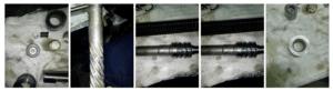 Работы, входящие в «Базовый ремонт рулевой рейки»