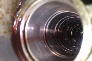 Абразивный износ корпуса рулевой рейки2
