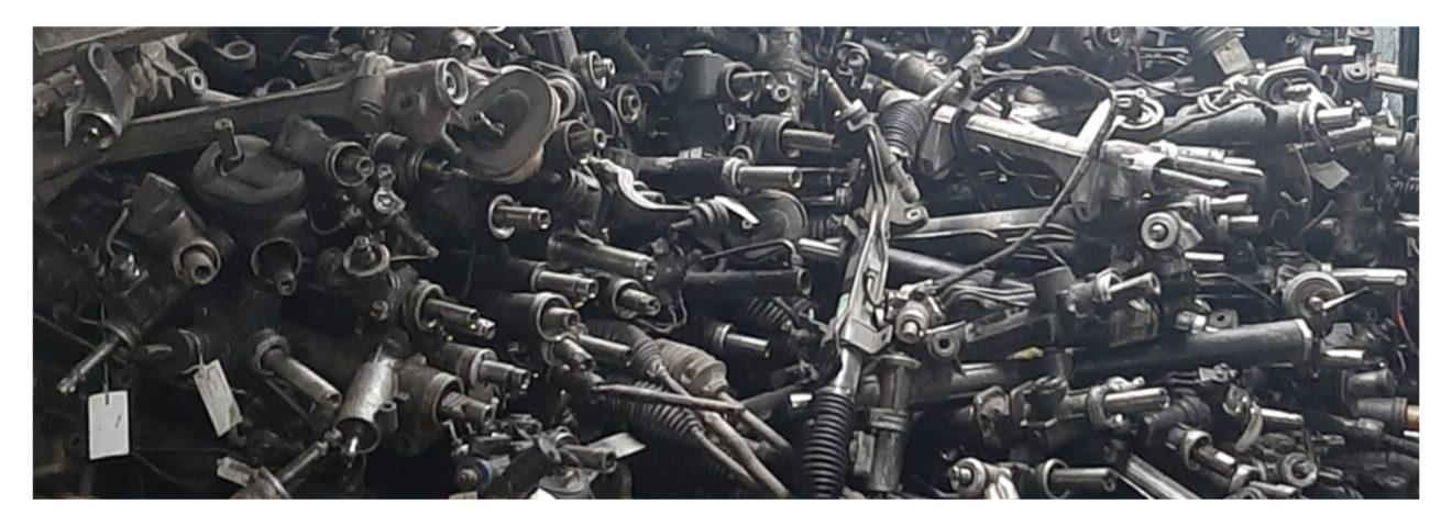 Покупка неисправных рулевых реек