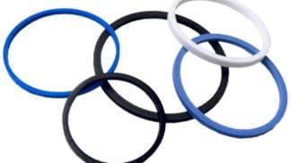 Тефлоновое кольцо M-01362 d1: 49, D: 53.4, H: 2.25
