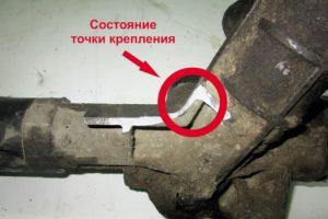 Обмен рулевых реек, требование к возвратной части